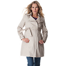 Buy Séraphine Tabitha Maternity Trench Coat, Beige Online at johnlewis.com