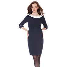 Buy Séraphine Marelle Shift Maternity Dress, Navy Online at johnlewis.com
