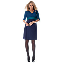 Buy Séraphine Adelaide Maternity Dress, Blue Online at johnlewis.com