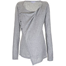 Buy Séraphine Natalie Bamboo Blend Top, Grey Online at johnlewis.com