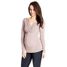 Buy Séraphine Adele Layered V-Neck Maternity Top Online at johnlewis.com