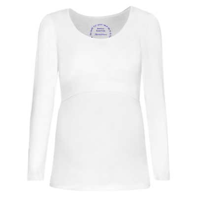 Product photo of S raphine laina long sleeve nursing maternity top