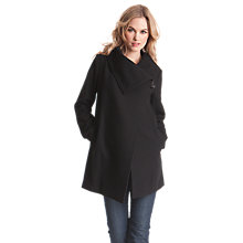 Buy Séraphine Clarence Maternity Coat, Black Online at johnlewis.com