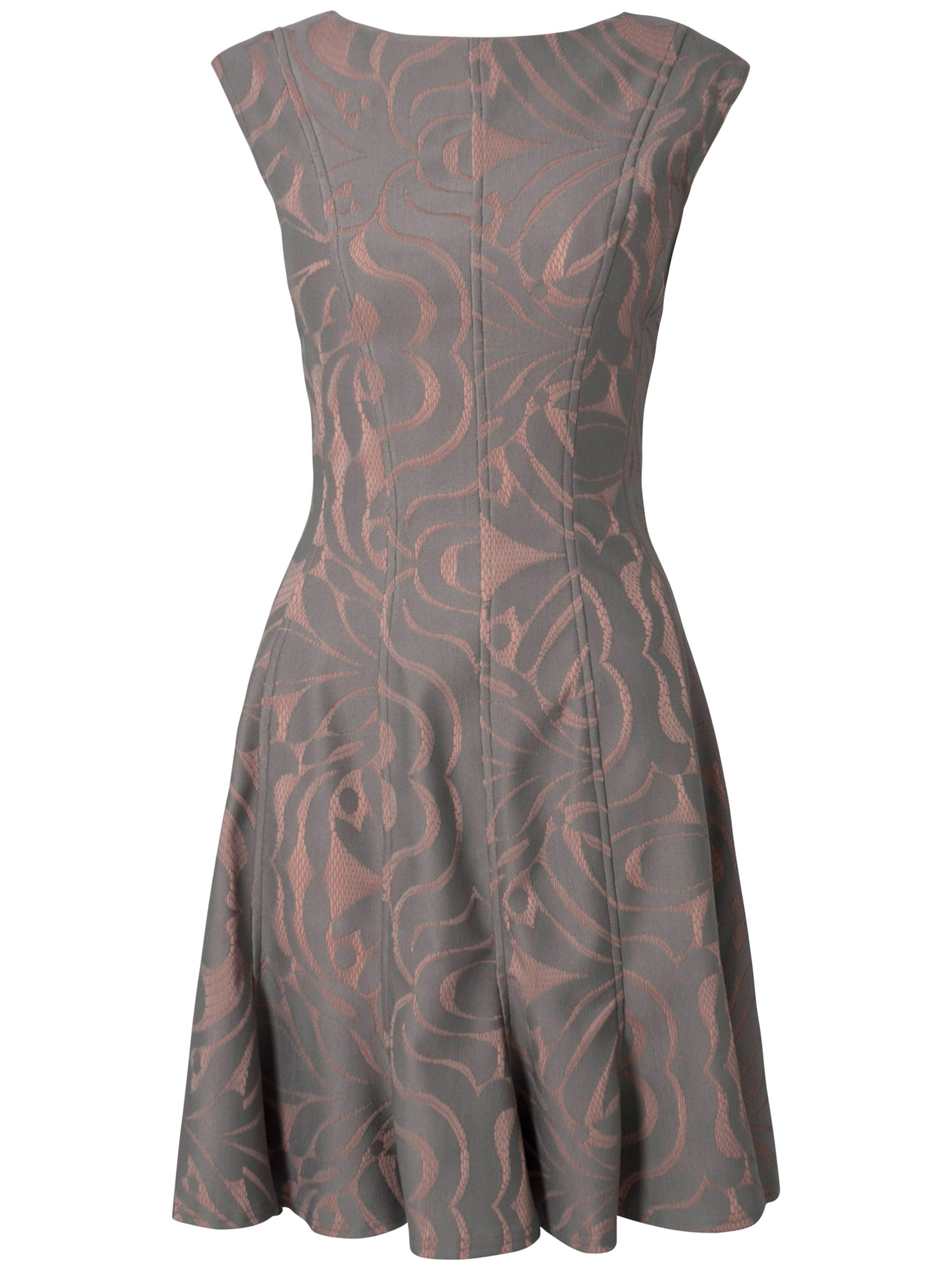almari bonded lace panel floral dress grey, almari, bonded, lace, panel, floral, dress, grey, 14 12 10 8, clearance, womenswear offers, womens dresses offers, women, inactive womenswear, new reductions, womens dresses, special offers, 1415123