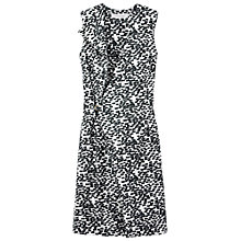 Buy Gérard Darel Printed Wrap Dress, Kaki Online at johnlewis.com