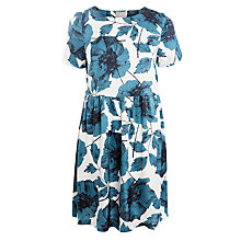 Buy Ghost Floral Print Dress, Amelie Sketch Floral Online at johnlewis.com