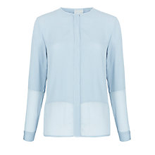 Buy Ghost Skyla Blouse, Dusty Blue Online at johnlewis.com