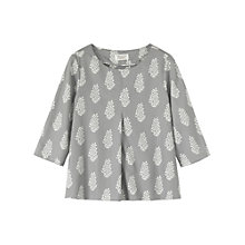 Buy Toast Karin Leaf Top, Grey Online at johnlewis.com