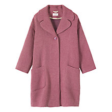 Buy Toast Lowell Coat, Pink Online at johnlewis.com