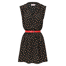 Buy Louche Zaza Bow Dress, Black Online at johnlewis.com