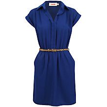 Buy Louche Minette Dress, Blue Online at johnlewis.com