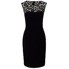 Buy BOSS Durana Dress, Black Online at johnlewis.com
