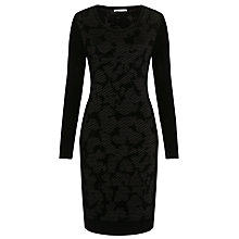 Buy BOSS Print Bodycon Dress, Black Online at johnlewis.com