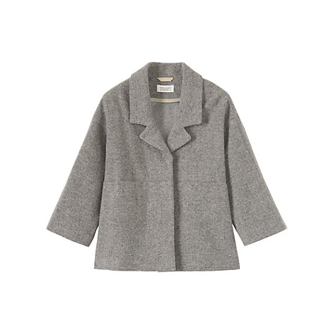 Buy Toast Tora Jacket, Grey Online at johnlewis.com