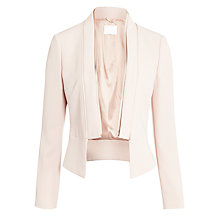 Buy BOSS Jianiva Fitted Jacket, Beige Online at johnlewis.com