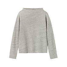 Buy Toast Feltback Sweater, Light Grey Melange Online at johnlewis.com