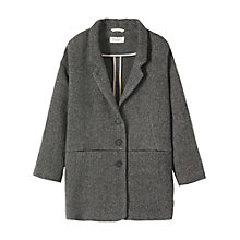 Buy Toast Lisel Jacket, Dark Grey Online at johnlewis.com