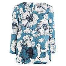 Buy Ghost Penelope Floral Blouse, Amelie Sketch Floral Online at johnlewis.com