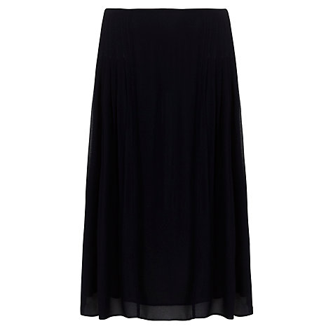 Buy Ghost Tamaryn Pleated Skirt, Marine Online at johnlewis.com