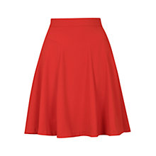 Buy Louche Egan Skirt, Red Online at johnlewis.com