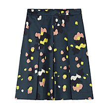Buy Toast Elin Print Skirt, Deep Teal Online at johnlewis.com