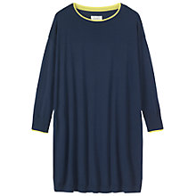 Buy Toast Catrine Tunic Knit Dress, Navy/Light Grey Online at johnlewis.com