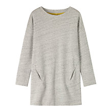Buy Toast Feltback Dress, Light Grey Melange Online at johnlewis.com