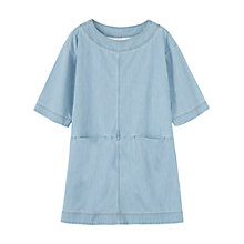 Buy Toast Runa Tunic Dress, Chambray Online at johnlewis.com