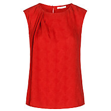 Buy BOSS Ilesa Top, Red Online at johnlewis.com
