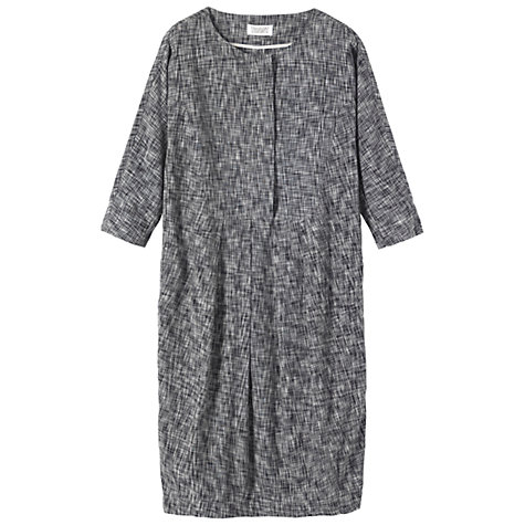 Buy Toast Demi Dress, Dark Grey Online at johnlewis.com