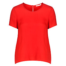 Buy BOSS Ilorana Top, Bright Red Online at johnlewis.com