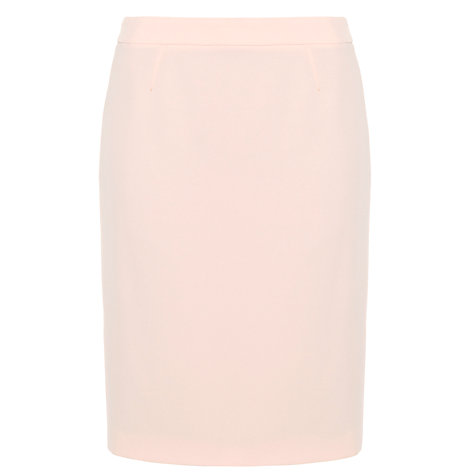 Buy Boss Pencil Skirt, Beige Online at johnlewis.com
