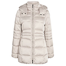 Buy BOSS Princey Coat, Grey Online at johnlewis.com