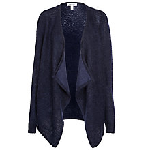 Buy Farhi by Nicole Farhi Mohair Cardigan, Navy Online at johnlewis.com