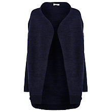 Buy Farhi by Nicole Farhi Cable Knit Cardigan, Black/Navy Online at johnlewis.com