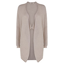 Buy Farhi by Nicole Farhi Mohair Cardi, Buff Online at johnlewis.com