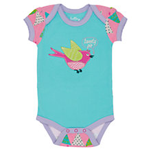 Buy Hatley Baby Bunting Print Bodysuit, Blue/Multi Online at johnlewis.com