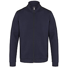 Buy BOSS Cannobio Zip Jumper, Navy Online at johnlewis.com