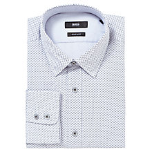 Buy BOSS Lucus Spot Pattern Long Sleeve Shirt Online at johnlewis.com