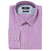 Buy BOSS Lucas Stripe Shirt Online at johnlewis.com