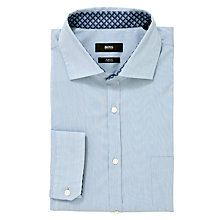 Buy BOSS Leroy Fine Stripe Shirt Online at johnlewis.com