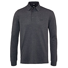 Buy BOSS Panderna Long Sleeve Polo Shirt Online at johnlewis.com