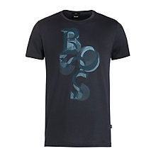 Buy BOSS Lecco Logo T-Shirt Online at johnlewis.com