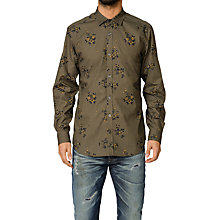 Buy Diesel S-Onass Shirt, Green Online at johnlewis.com