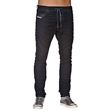 Buy Diesel Jogg Krooley 0600V Slim Jeans, Dark Wash Online at johnlewis.com