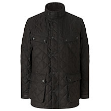 Buy Barbour International Alodoth Quilted Motorcycle Jacket, Brown Online at johnlewis.com