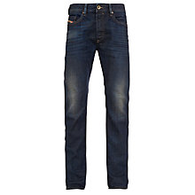 Buy Diesel Buster 0835H Slim Tapered Jeans, Dark Wash Online at johnlewis.com