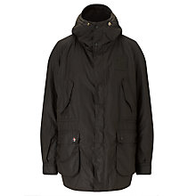 Buy Barbour International Steve McQueen™ Collection Reiver Hooded Jacket, Olive Online at johnlewis.com