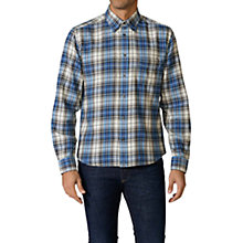 Buy Diesel S-Watis Tartan Shirt, Blue Online at johnlewis.com
