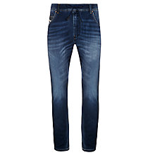 Buy Diesel Jogg Krooley Tapered Jeans, Mid Wash Online at johnlewis.com